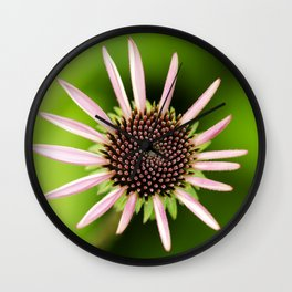 Coneflower Alternate Perspective Wall Clock