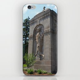 Calvary Cemetery Angel iPhone Skin