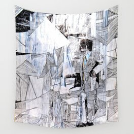 Distant Folding Wall Tapestry