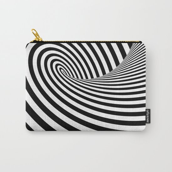 Dizzy lines - Optical game 16 Carry-All Pouch