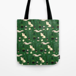 Slytherin Pattern Tote Bag