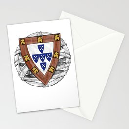 Old School Crest (Updated) Stationery Cards