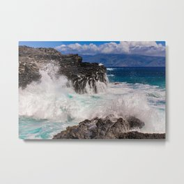 The Powerful Wonders Of The Sea Metal Print