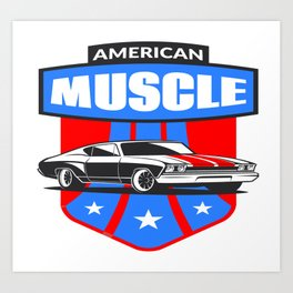 Muscle Car Art Prints Society6