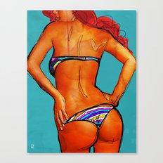 Bikini Canvas Print
