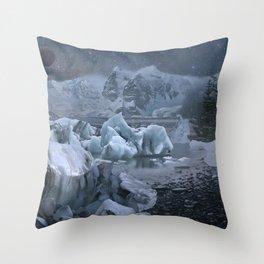 The Arctic Throw Pillow