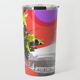 The Unimpressed Tourist (red version) Travel Mug