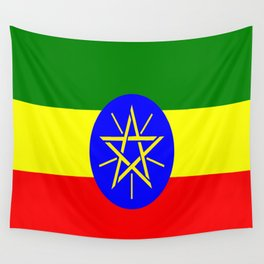 Flag of Ethiopia Wall Tapestry