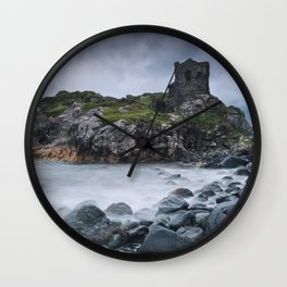 Kinbane Castle II Wall Clock