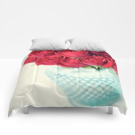 Forgive Me ~ Red Roses Comforters
