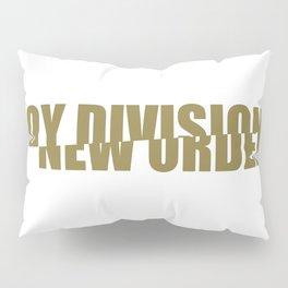 80s music / band logo art / JD/NO Pillow Sham