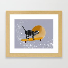 Tail on the Tail Framed Art Print