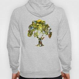 Abstract Tree Reflection Hoody