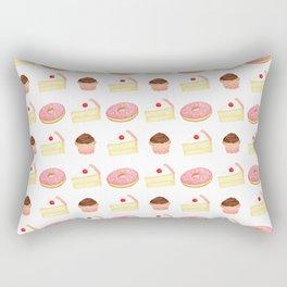Dessert Pattern Rectangular Pillow