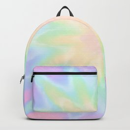 Tie Dye Trippy Backpack