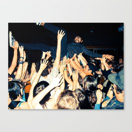 Stage Diving Canvas Print