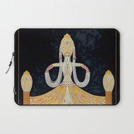 "Art Deco 1920's Design ""Oriental Enchantress"" Laptop Sleeve"