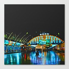 Last Train From Thailand Canvas Print