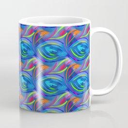 Colorful  blue scales Coffee Mug