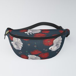 Bettas and Poppies Fanny Pack
