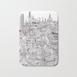 London Cityscape Bath Mat