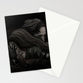 she can't get in // kabby Stationery Cards
