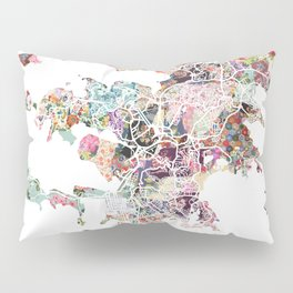 Noumea map Pillow Sham