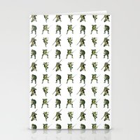 ninja turtle Stationery Cards featuring Ninja Turtle Pattern by Neal Julian