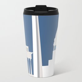 Washington, D.C. - Skyline Illustration by Loose Petals Travel Mug