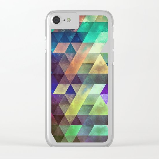 lytr vyk ryv Clear iPhone Case