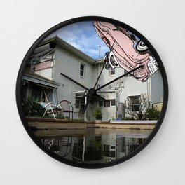 Car Pool Wall Clock