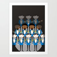 And all that jazz Art Print