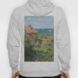 Fisherman's Cottage at Varengeville by Claude Monet Hoody