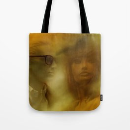 showcased - sepia Tote Bag