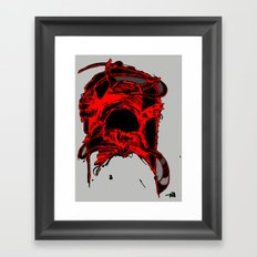 monster side Framed Art Print