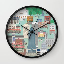 My Montreal Wall Clock