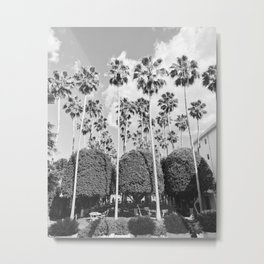 MIAMI PALMS Metal Print
