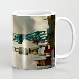Harbor Crane Coffee Mug