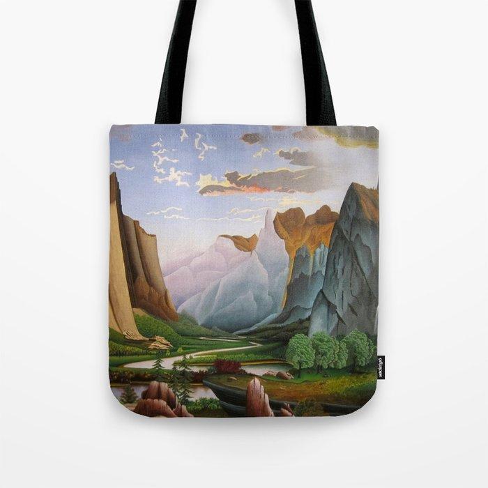 Yosemite Valley Tote Bag