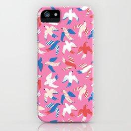 Papercut Birds iPhone Case