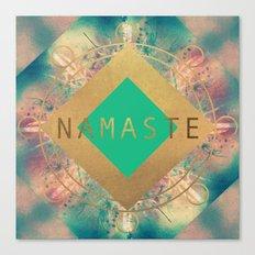 Namaste Mandala Canvas Print