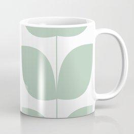 Mid Century Modern Leaves 02 #society6 #buyart Coffee Mug
