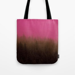 Pink & Chocolate Taffy Fog - Seward, Alaska Tote Bag