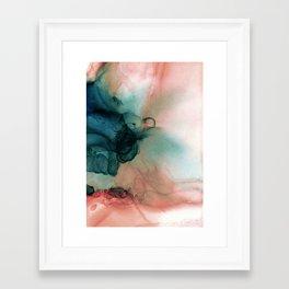 Blue Typhoon Framed Art Print
