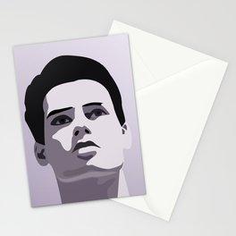 Model Man A (Purple Hue) II Stationery Cards