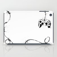 gaming iPad Cases featuring Gaming Console by Thea Isla Design