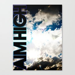 AIM HIGH Canvas Print