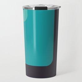 Trendy color palette Travel Mug