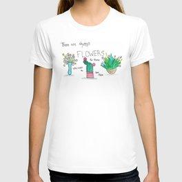 Watercolor Flowers T-shirt