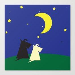 Scottie's Night Canvas Print